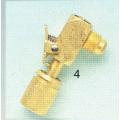"17 C. Быстросъемный клапан 1/4"" SAE 90°."