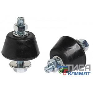 Виброгаситель для внешнего блока кондиционера до 80кг  Vecam 40х20 мм (уп. 4 шт.)