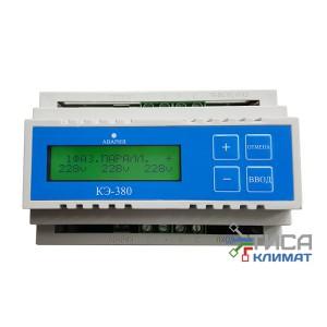 Контроллер сети электропитания КЭ-380  (220-380В 3-фазный)