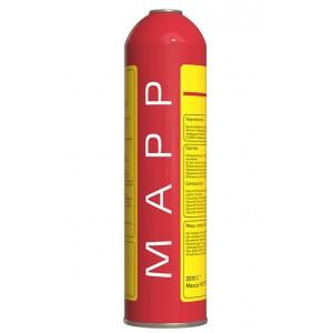 """Газ РО-МАПП(MAPP) для пайки медных труб в баллонах 1л (7/16"""")"""
