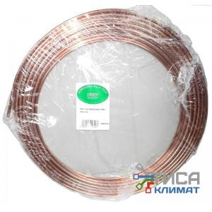 """Труба медная Feinrohren (Италия) ASTM B280 3/8""""  9,52*0,81*15240мм"""