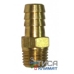 "Адаптер для вакуумных насосов   WIGAM  PG 1/4"" NPT  (1/4"" NPT x Ø10mm)"