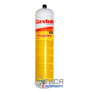 Одноразовый кислородный баллон Castolin Oxygen 930гр.