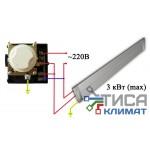 Комнатный термостат Shuft TA2n (6010) 16А (ZILON ZA-1)